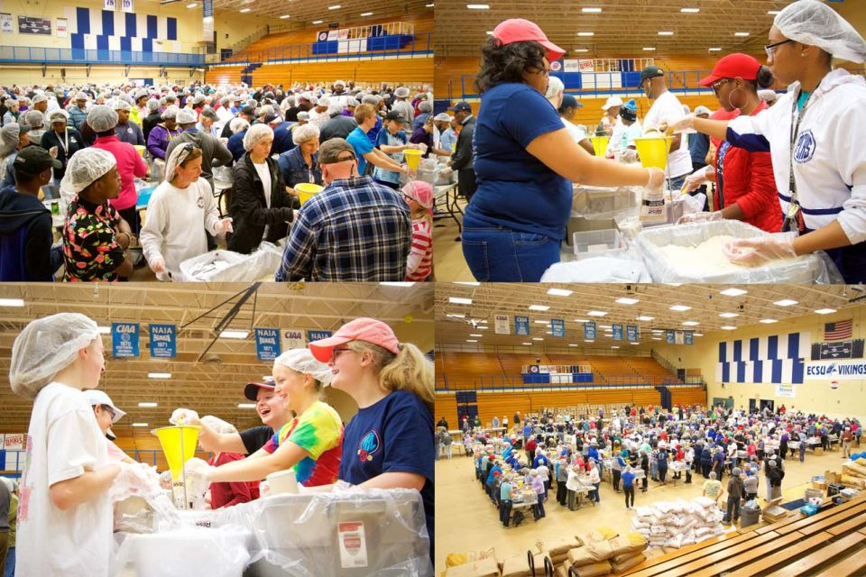 Rise Against Hunger Event Exceeds Expectations
