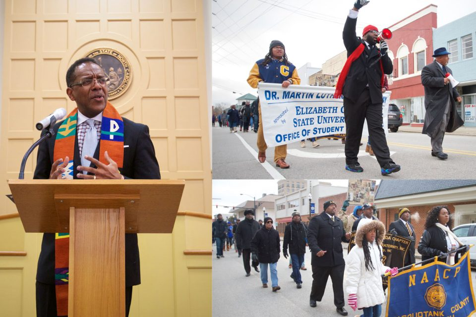 Martin Luther King Jr. Day Speaker Calls for Action Now