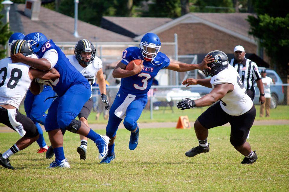 Senior Viking quarterback Daquan Neal, number 3, will play in Florida's Spiral Tropical Bowl Saturday