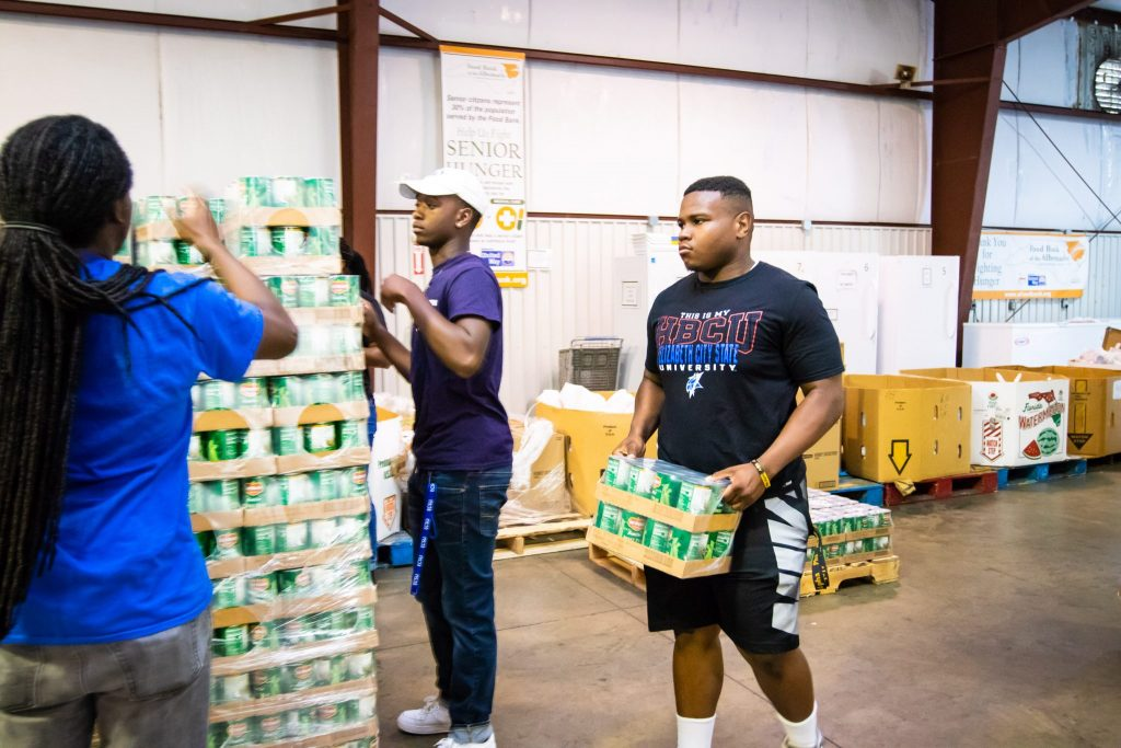 Ecsu Partners With Food Lion Feeds To Address Food Insecurity Across