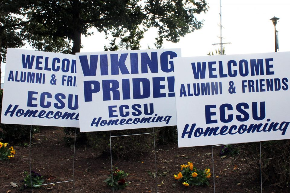 Area Businesses Partner with ECSU for Viking Homecoming 2018