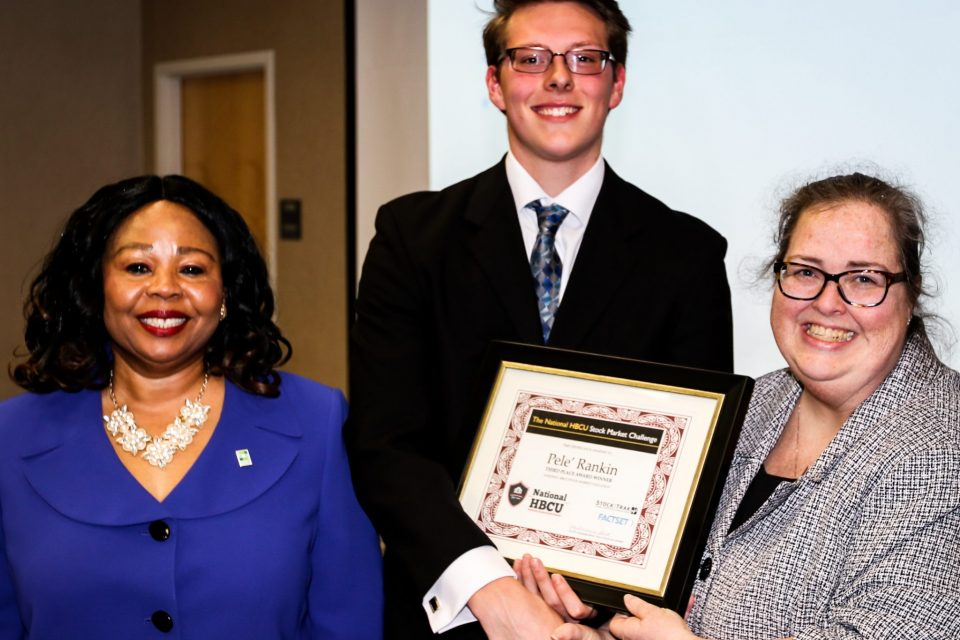 ECSU Business Students Honored During Department Ceremony